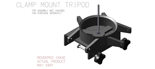 Ultimate Tripod Clamp-On With Bottom Assembly